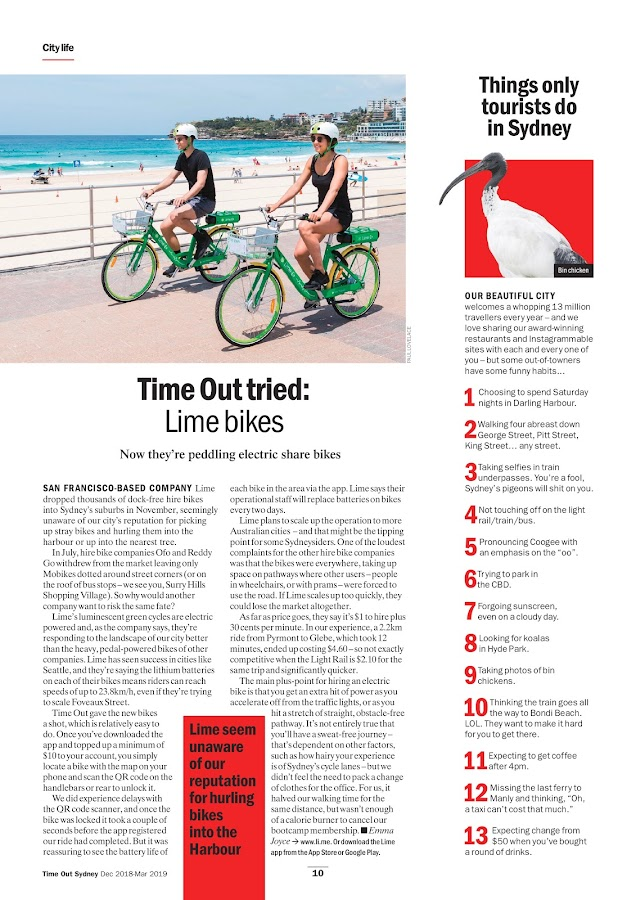 Time Out Sydney- screenshot