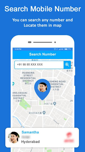 Mobile Number Location - Phone Call Locator 8.6 screenshots 2