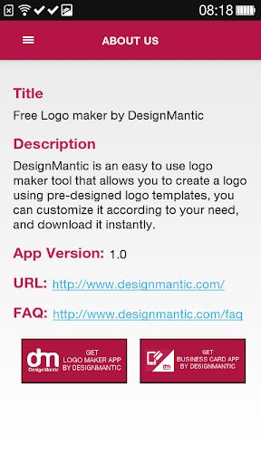 Free Logo Maker - DesignMantic 3.0 screenshots 2