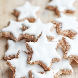 Zimtsterne – German Christmas Cookies