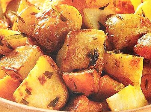 Roasted Potato Medley Recipe