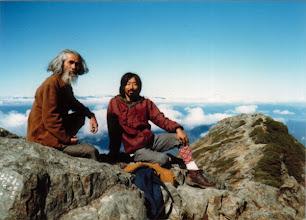 Photo: 1984.10 塩見岳山頂