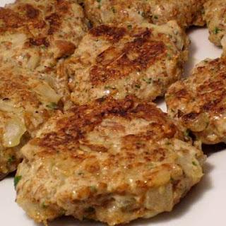 Chicken Pecan Bulgur Burgers