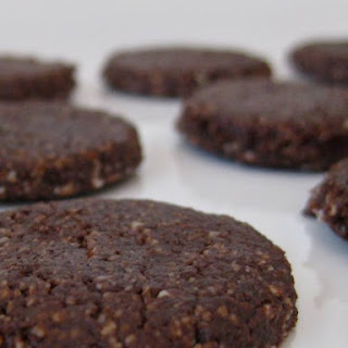 Raw Vegan Chocolate Cashew Cookies.