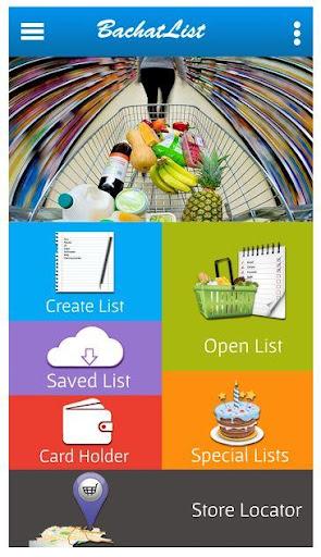 BachatList Shopping List App