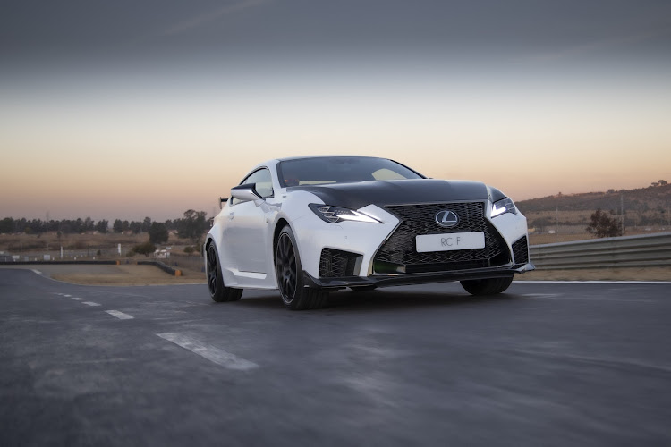 Lexus lights up with V8 power