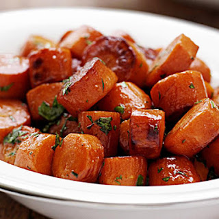Caramelized Carrots.