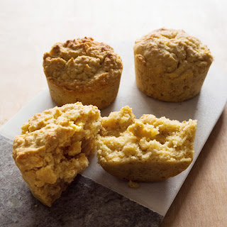 Lemon Polenta Breakfast Muffins.
