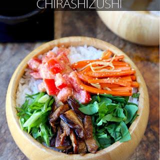 Vegetarian Chirashi Sushi