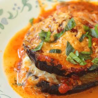 Keto Eggplant Parmesan   Keto Melanzane alla Parmigiana.