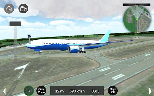 Flight Sim - náhled