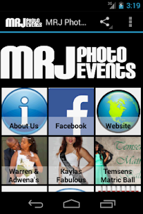 M.R.J Photo Events Portfolio 2- screenshot thumbnail