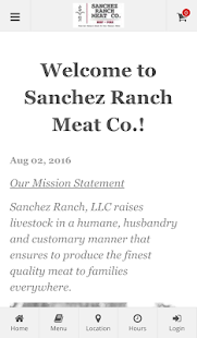 Sanchez Ranch Online Ordering- screenshot thumbnail
