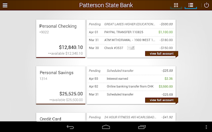 Patterson State Bank Mobile Screenshot 6
