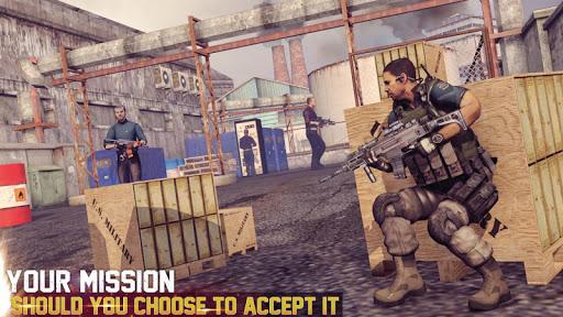 neuf pistolet tournage FPS 3D: action Jeux  captures d'écran 2