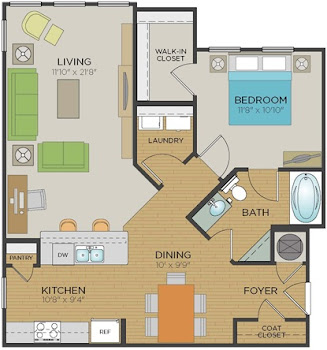 Go to A1 SR Floorplan page.
