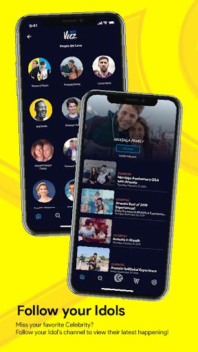 360VUZ - Live Stream 360u00b0 VR Video App 4.6.7 screenshots 2