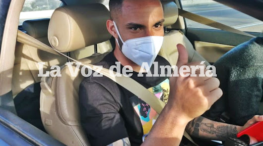 ¡Guilherme Schettine ya está en Almería!