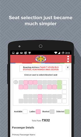 android Book APSRTC Screenshot 3