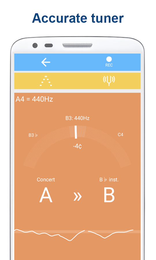 Tuner & Metronome- screenshot