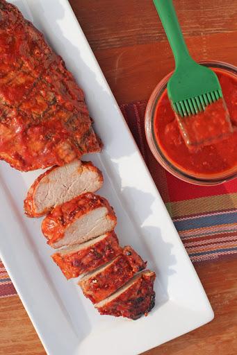 Raspberry Chipotle BBQ Sauce (with Pork Tenderloin)