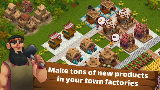 SunCity: City Builder, Farming Mod Apk (Unlimited Storage) 5