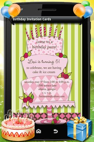 Birthday party invitation card apk download apkpure birthday party invitation card screenshot 5 stopboris Image collections