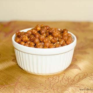 Crunchy Roasted Chickpeas.