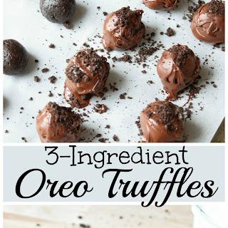 3-Ingredient Oreo Truffles.