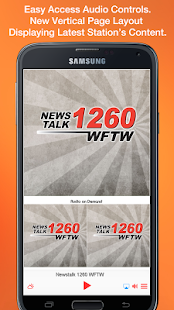 Newstalk 1260 WFTW- screenshot thumbnail