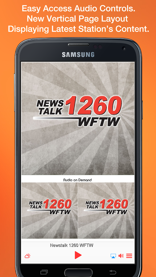 Newstalk 1260 WFTW- screenshot
