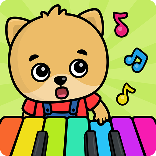 Kids piano Icon