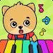 Kids piano icon