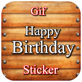 Gif Birthday Stickers