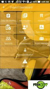 SiteHub Mobile - náhled