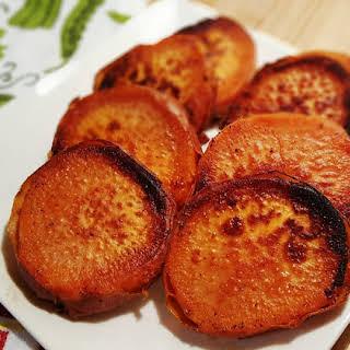 Pressure Cooker Caramelized Sweet Potatoes.