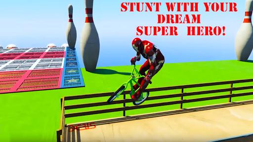 Superhero Bmx Racing Simulator game 1.2 screenshots 3