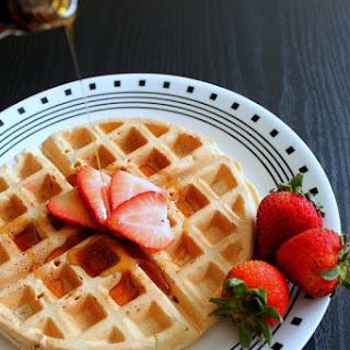 Eggless Waffle Recipe | Vegan Waffles