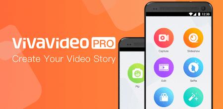 VivaVideo PRO Video Editor HD APK poster