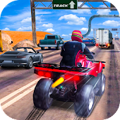 Extreme Quad Biker Race: Highway Drifting 3D Game