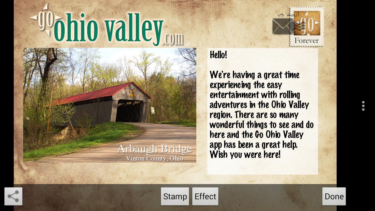 Go Ohio Valley - screenshot