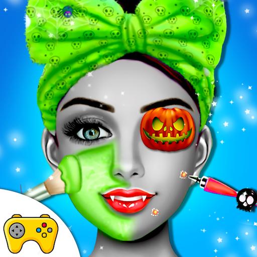 Halloween Monster Princess Fashion Salon