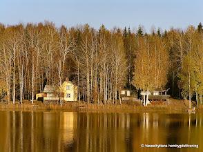Photo: Sommarstugor i närheten av Mässingviken i Sörsjön