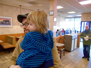 Photo: ...then it was lunch at Roy Rogers!