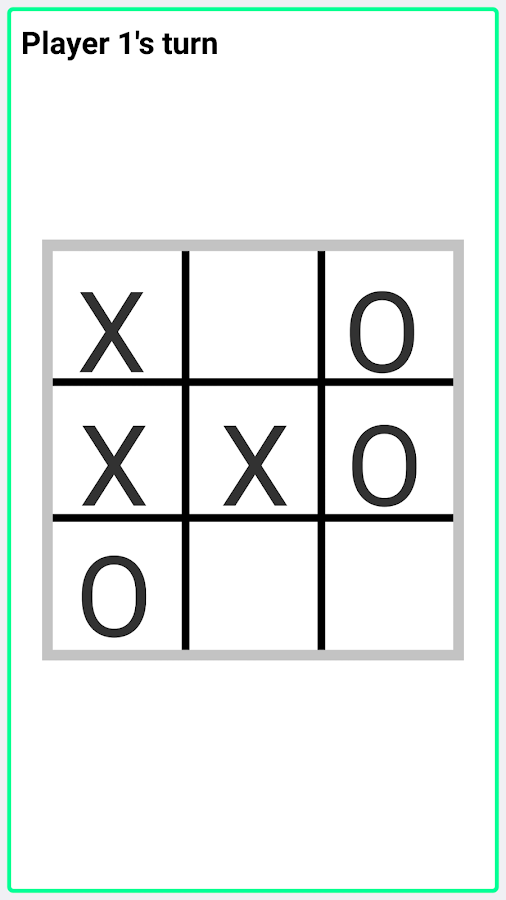 Bluetooth TicTacToe- screenshot
