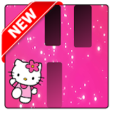 Pink Hello Kitty Piano Tiles