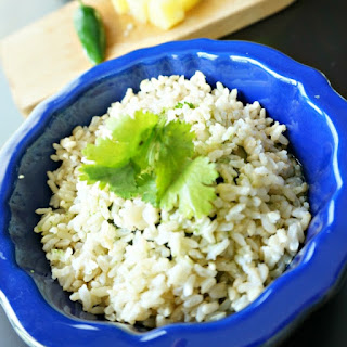 Pineapple Cilantro Lime Rice