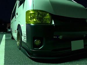 ハイエースバン TRH200V SUPER GL 2018年式のカスタム事例画像 keiji@黒バンパー愛好会さんの2019年12月24日23:10の投稿