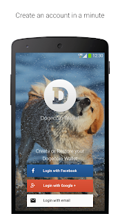Dogecoin Wallet- screenshot thumbnail