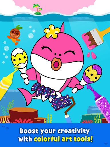 Pinkfong Baby Shark Coloring Book screenshot 12